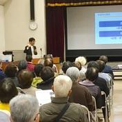 野田市公民館主催『いきいきライフセミナー』「ロコモって知っていますか?~健康寿命をのばすカギ~」