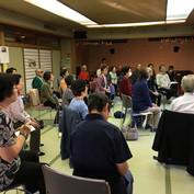 10月30日北新宿第二地域交流館にてロコモ予防講座を開催いたしました。