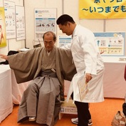 京都市主催 「健康長寿のまち・京都いきいきフェスタ」でロコモ度テストのブースを担当させて頂きました。